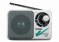 Tracking NO+ Radio TECSUN R-201T R201T AM FM TV Sound 2-5CH Portable Built-In Speaker High Sensitivity Pocket Receiver