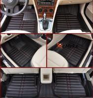 For Mercedes Benz GLK Class - Car Floor Mats & Car Mats Ultimate Custom Fit Full Surrounded Floor Liner - Multicolor
