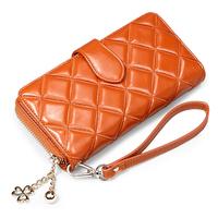 Дизайн женских сцепление кошелек из натуральной кожи ретро резные дамы кошелек Клатч n8010