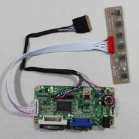 DVI+VGA lcd controller board RT2261 work for10.1inch B101AW03 LP101WSA  LTN101NT02  1024*600 lcd panel