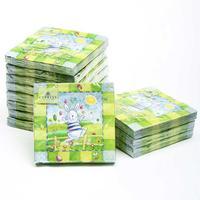 [12 packs]100% virgin wood pulp food-grade printed paper napkins wedding paper napkin colorful tissue paper serviette-4NC1240