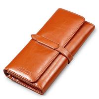 New Arrival  Design  Women's Clutch Purse Genuine Leather Folding Wallet  Ladies Clutch Bag N8001