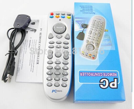 10pcs/lot, Free Shipping USB PC Laptop Remote Controller Media Center Controller For Windows XP/Vista(China (Mainland))