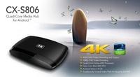 Original Amlogic S812 CX-S806 Android TV Box Quad Core 2GHz 2GB/8GB XBMC IPTV TV Box Mali450 GPU WiFi 4K*2K HDMI 1080P