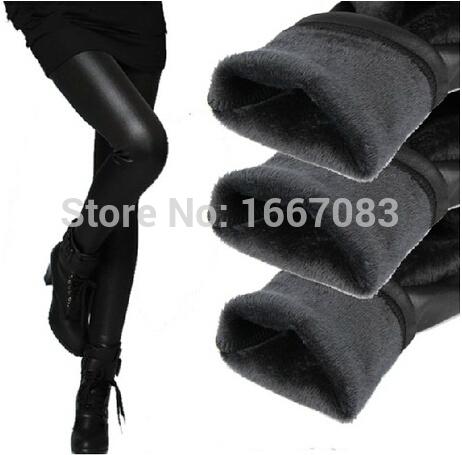 2015 мода осень зима теплые леггинсы искусственная кожа зима женщины леггинсы capirs тонкий длинные брюки все матч(China (Mainland))