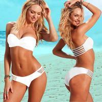 New Arrival High Quality 6 Colors Elastic Women Sexy Bikini Set Swimwear Swimming Suit Swimsuit S/M/L Drop Shipping