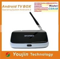 Original Android TV Box CS918 Q7 MK888 K-R42 Quad Core RK3188 Bluetooth 2GB/8GB Mini PCXBMC Famous Apps & ADD ONS Preinstalled