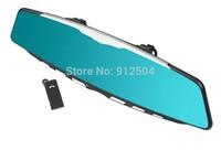 "4.3"" FULL HD 1080P Car DVR 96650 T1000 Car Rearview Mirror bluetooth 140 degree view angle G-sensor"