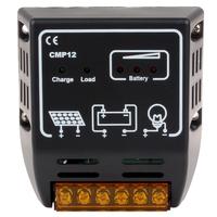 Solar Charger Controller Solar Charge Controller Regulator for Solar Panel System Battery 12V / 24V Auto