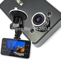 "Car DVR 1080p 2.7"" LCD Recorder Video Dashboard Vehicle Camera K6000 NOVATEK Chipset 140 Wide Angle"