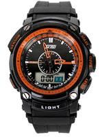 Original SKMEI Men Sports Watches Waterproof Quartz Clock Fashion Watch LED Digital Multifunctional Military Wristwatches 0910