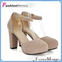 2015 Sexy Retro High Heels  Ankle Straps Hidden Platform Wedding Round toe Sandals Women Sandals Summer Shoes