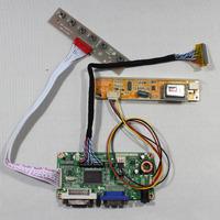 DVI+VGA lcd controller board RT2261 work for  17inch LTN170WX   B170PW02 B170PW06  N170C2 1440*900 lcd panel