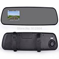 "2.7"" FULL HD 720P Car DVR Car Rearview Mirror 90 degree view angle G-sensor Cheaper price"