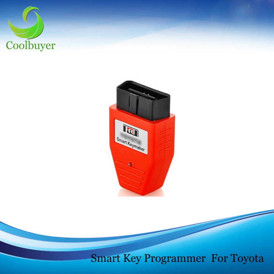 Smart Keymaker Key Maker OBD2 OBD II OBDII Programmer 4D and 4C Chip For Toyota Lexus Support K Line Canbus Protocols(China (Mainland))