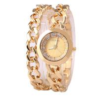 2015 Women Fashion Rhinestone Bracelet Watch Ladies Casual Sport Quartz Watches Women Dress Watches Free Shipping