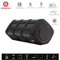 Sinoband S400 Caixa de som bluetooth speaker stereo Portable subwoofer loudspeakers altavoz musical box