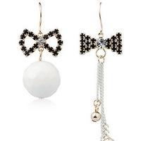 New 2015 vintage earring famous brand jewelry wholesale Fashion flash tassel earrings bow fabulous earring
