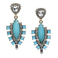New 2014 fashion jewelry hot sale women crysta earrring , women good quality statement stud Earring
