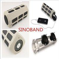 Sinoband S400 2015 parlantes caixa de som super bass shower Bluetooth power bank speaker