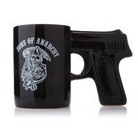 Sons of Anarchy Cup Novelty Pistol Mug Ceramic Coffee Cups
