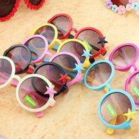 kids sunglasses five star UVA girls sunglasses 24pcs/lot free shipping