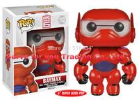 New!The funko pop Big Hero 6 NURSE BAYMAX PERIESCENT 6inch super sized pop toys vinyl figure children toy gift