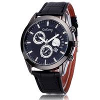 New 2015 Men Business Quartz Watches Alloy Case Casual Big Dial Analog Auto Date Fashion Wristwatches