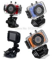 Hot HD 720P Waterproof Sport DVR Digital Camera with 20 meter Waterproof Case Portable Video recorder
