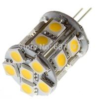 JC BI PIN G6.35 LED Light Bulbs 2700k 50,000 Hr 12 V 3 watt 18 LED 5050 SMD