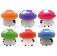 Free shipping Mushroom Shaped Mini Vacuum Cleaner Desktop Cleaner Keyboard cleaner Creative gifts
