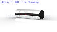 20pcs/lot DHL Free Shipping NFC FM HIFI bluetooth speaker wireless stereo portable loudspeaker super bass caixa de som sound box