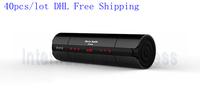 40pcs/lot DHL Free Shipping NFC FM HIFI bluetooth speaker wireless stereo portable loudspeaker super bass caixa de som sound box