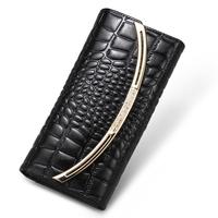New Arrival Luxury Women's Clutch Purse Genuine Leather Wallets Ladies Clutch Bag N8023