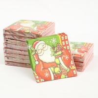 [12 packs]100% virgin wood pulp food-grade printed paper napkins wedding paper napkin colorful tissue paper serviette-4NC3687