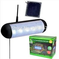 NEW OUTDOOR SOLAR POWER SECURITY SPOTLIGHT GARDEN SHED 5 LED MOTION SENSOR LIGHT REGARAGEABLE