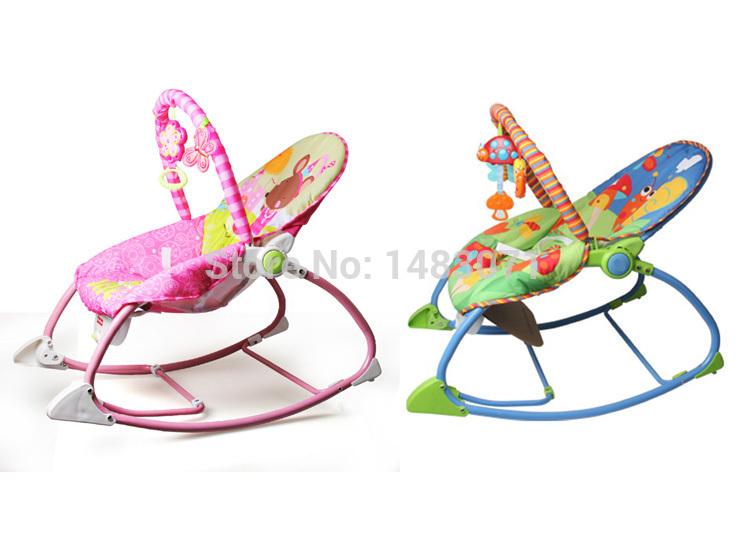 67 * 42 cm bebê cadeira de balanço cadeira infantil balanço do bebê berço brinquedo cantar a canção(China (Mainland))