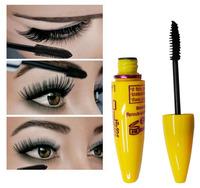 Free Shipping 1PC Fashion Yellow Leopard Colossal Mascara Volume Express Makeup Curling Waterproof Eyelashes MK0019