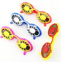 fashion spider Flap kids sunglasses 24pcs/lot free shipping