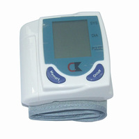 Clear LCD Automatic Digital Wrist Blood Pressure Monitor Heart Beat Meter Sphygmomanometer Prevent Hypertension