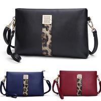 2015 new fashion Korean women bags leather shoulder bag leather clutch bag wholesale L802