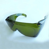 Dental laser eyewear for 808nm 810nm 980nm and YAG 1064nm lasers, 800-1100nm O.D 5+ CE certified
