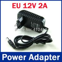 SNO Korea 1pcs AC 100-240V to DC 12V 2A Switch Switching Power Supply Converter Adapter EU Plug Free Shipping