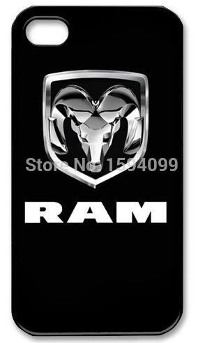 2015 Hot Sale Dodge Ram Logo Style Back Skin Luxury Printing Hard Plastic Case for Apple iPhone 4 4s 5 5s 5c 6 6Plus(China (Mainland))