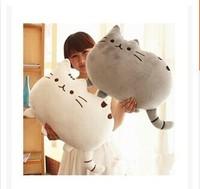 Creative Cartoon pillow Cushion Car Cushion Cover Handsome Cat Nap Pillow Cushion and Pillow Washable Waist Pillow 40cm*30cm