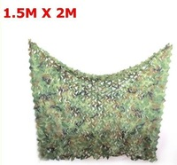 new1.5M X 2MCar Drop netting Hunting Camping Military Camouflage Net jungle camouflage net Woodlands Leaves for Military[200328]