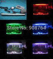 L007# led Aquariums lamp plant grow lamp daylight decoration LED light,fish tank 40cm 27bulbs led Free shipping