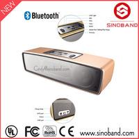 Sinoband S500 Preminium 10W gold mini wireless portable speaker / mini bluetooth speaker music sound box