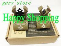 Diamondhead DIAMOND Combat Flip-Up Rear & Front Sight Folding Iron Sights for Picatinny Rail DE free shipping