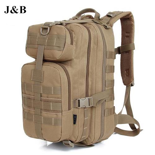 J&B 2015 Men Women Outdoor Military Tactical Backpack Camping Hiking Bag Trekking Sport Rucksacks Free Shipping YYJ1077(China (Mainland))